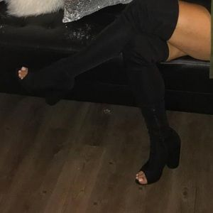 EGO OFFICIAL over the knee boots